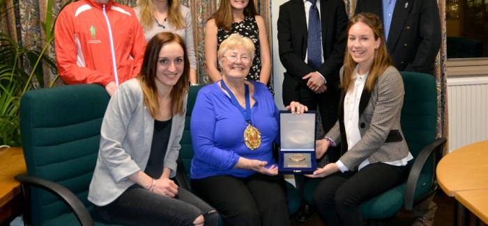 AFD visit Mayor of Rushmoor