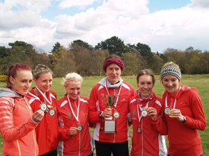 AFD Women 6 Stage Champions for 7 year was the highlight of a fantastic weekend